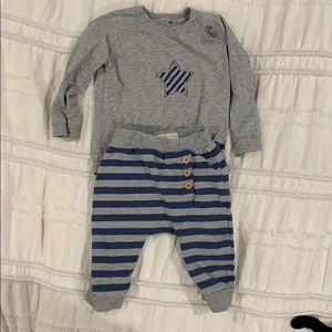 Bellybutton matching set